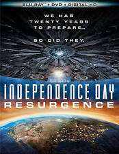 Independence Day: Resurgence (Blu-ray/DVD, 2016) Usually ships within 12 hours!!