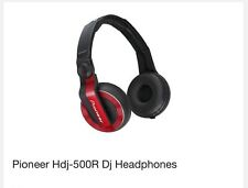 Pioneer HDJ-500R DJ Headphones - Red