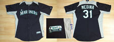 MLB Authentic Baseball Trikot/Jersey SEATTLE MARINERS Medina #31 GameUsed 52/XXL
