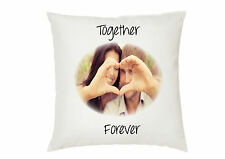 Personalised Photo Satin Feel Cushion Cover Text And Photo great Christmas Gift