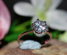 1ct solitaire round DIAM0ND ring size J 5