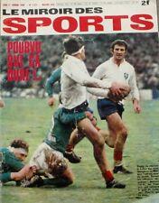 Le miroir des sports n°1221 - 1968 - Spanghero - Sansonetti - Keita - R. Pingeon