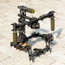 Carbon Fiber DSLR 3-Axis Handle Camera Gimbal + Motors + 32bits Controller
