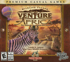 WILDLIFE TYCOON VENTURE AFRICA Sim PC & MAC Game NEW!