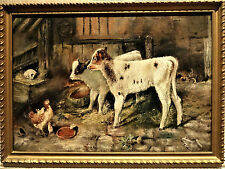 After Walter Hunt (1861-1941): The Dog in the Manger, oil on canvas