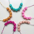 Hexagon Silicone Teething Necklace for Mum that Baby can Chew Jewellery Pendant