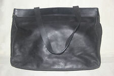 Authentic Calvin Klein Vintage Genuine Leather tote shoulder bag