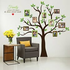 Wall Photo Tree Family Frame Large Decor Sticker Art Home Decals Vinyl Picture