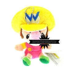 SUPER MARIO BROS. BABY WARIO PELUCHE mini party kart ware junior new plush jr.