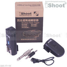 30m--Speedlight Radio Wireless Flash Trigger PT-04 for Canon Nikon Metz Pentax
