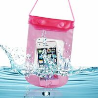 WATERPROOF BEACH BAG POUCH FOR APPLE IPHONE 5S 5 5C 4S 4 iPOD TOUCH CASE