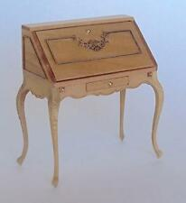 "MINIATURE DOLLHOUSE ""VIOLET"" LADY'S DESK  BY MARITZA FOR BESPAQ-MM-012-KW"