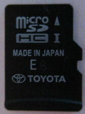 13 14 15 16 fits all Toyota models Navigation Micro SD HC Card Map 86271-0E182