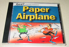NEW Snap! Paper Airplane Computer Game PC CD-ROM Windows 95/98