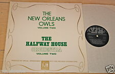 THE NEW ORLEANS OWLS THE HALFWAY HOUSE ORCHESTRA VOLUME TWO UK VINYL LP VJM 1969