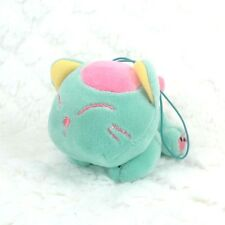 Turquoise Blue Laying Down Cat Kitty Soft Plush Stuffed Animals Hanger Cute New