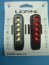 Lezyne LED Strip Drive NEW Front/Rear Bicycle Light- 120 Lumens- USB Recharge