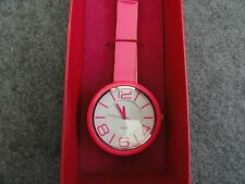 New Hot Pink Quartz Ladies Watch with a Wrap Around Band