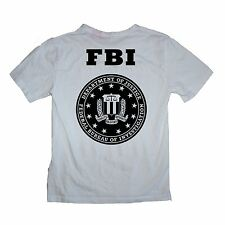 FBI Department of Justice Shirt - Sizes S-XL Various Colours