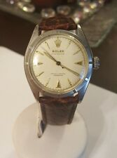 Vintage Rolex 1952 Ref. 6085 Cal. A260 Oyster Perpetual Chronometer Bubble Back