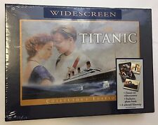 Titanic Collectors Edition Widescreen VHS Gift Set Sealed Photo Book Filmstrip