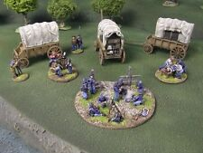 WILD WEST WAGONS - 28mm - PAINTED TO COLLECTORS STANDARD