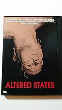 ALTERED STATES mind blowing DVD Sci-Fi evolution God the Devil creation nudity R