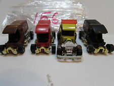 HOT WHEELS LOT OF 4 LOOSE T - TOTALLER 1976 1977  HONG KONG BASE