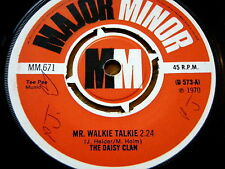 "THE DAISY CLAN - MR WALKIE TALKIE  7"" VINYL"