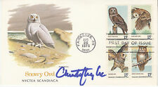 CHRISTOPHER LEE (1922-2015) hand signed 1978 FDC first day cover autographed