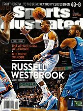 New Sports Illustrated 4/6/15 Russell Westbrook No Label OKC Thunder No Label