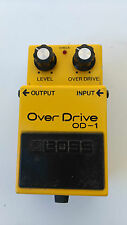 BOSS OD-1 OVERDRIVE MIJ JAPAN BLACK LABEL LONG DASH - FREE NEXT DAY IN THE UK