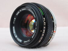 OLYMPUS ZUIKO 50mm F1.8 LENS, EXCELLENT OPTICAL AND BUILD QUALITY
