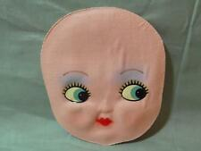 Vintage Cloth Baby Doll Face