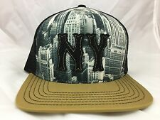 Urban Outfitters Graphic Print New York NY Strapback Baseball Cap Hat NEW NWOT