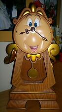 Figurine Disney Park Cogsworth Big Ben Tockins Ding Dong Beauty and the Beast