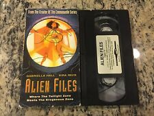 ALIEN FILES RARE VHS NOT ON U.S DVD 1999 GABRIELLA HALL, KIRA REED EROTIC SCI-FI