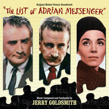 The List Of Adrian Messenger - Complete Score - Limited 3000 - Jerry Goldsmith