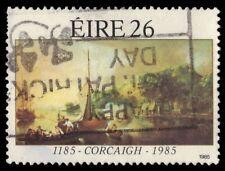 """IRELAND 609 (SG606) - """"A Landscape at Tivoli Cork with Boats"""" (pa11655)"""