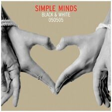 cd audio  NUOVO  INCELOFANATO  SIMPLE MINDS BLACK& WHITE 050505