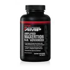 GNC Pro Performance® AMP Amplified Maxertion N.O.™ Advanced 120 Tablets