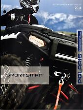 2014 POLARIS ATV SPORTSMAN APPAREL & ACCESSORIES SALES CATALOG MANUAL  (814)