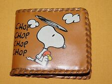 VINTAGE 1965 PEANUTS UNITED FEATURE SYNDICATE OFFICIAL SNOOPY WALLET  UNUSED