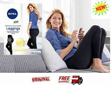 NIVEA Q10 PLUS SLIMMING LEGGINGS - FIRMING AND SHAPPING SIZE   S/M