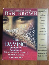 Dan Brown THE DA VINCI CODE Audiobook 14 CDs Unabridged Paul Michael Tom Hanks!