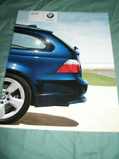 BMW 5 Series Sport Wagon 535xi brochure 2008 USA market