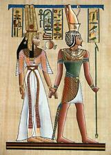 Handcrafted Egyptian Greeting Cards Note Paper Ancient Egypt Prints Scrolls