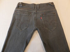 Levi's 511 Skinny 32 x 33 Side Buckles Stretch Men's Jeans