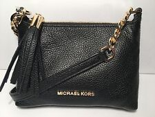 NWT Michael Kors Bedford Crossbody Black Leather Bag