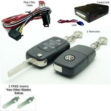 Plug-and-Play VW Volkswagen Remote Keyless Entrada para coche cerradura PP02-669